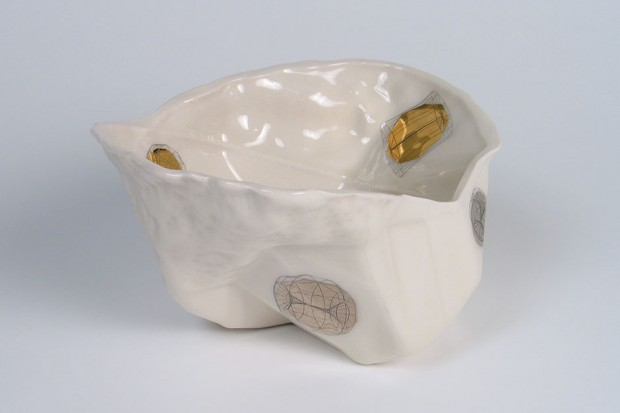 Bowl with Gold Decoration